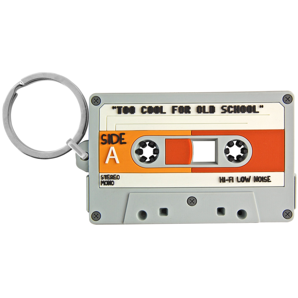 Cassette Tape Keyring. - 5815d6d023d1