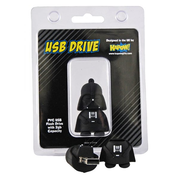 star wars darth vader flash drive usb memory stick 2gb. Black Bedroom Furniture Sets. Home Design Ideas